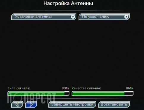 триколор тв частоты каналов: